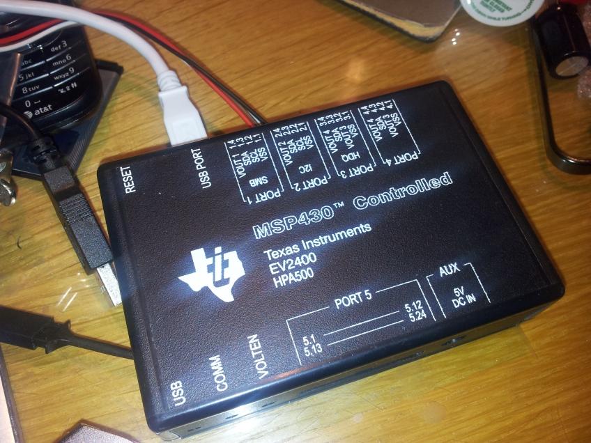 EV2400 interface
