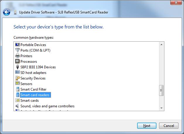 Schlumberger Reflex USB v.2 Smart Card Reader Driver