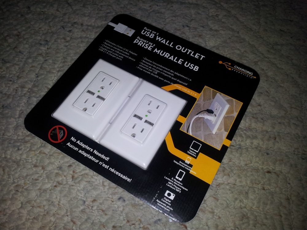 Review, teardown and analysis of Charging Essentials USB wall outlet (1/6)