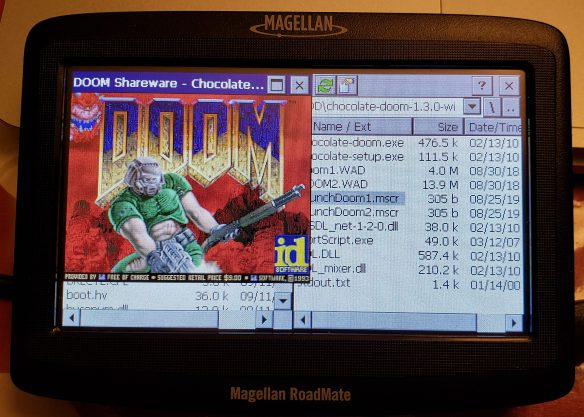 It runs Doom!
